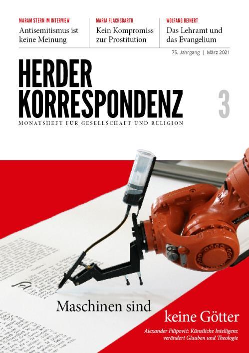 Herder Korrespondenz 75. Jahrgang (2021) Nr. 3/2021