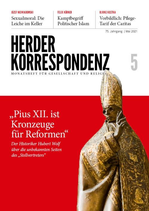 Herder Korrespondenz 75. Jahrgang (2021) Nr. 5/2021