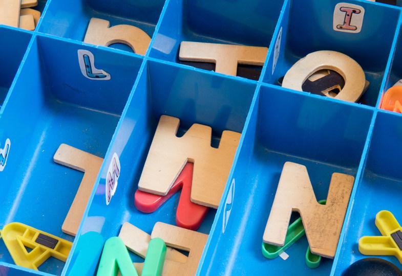Buchstaben auf der Spur