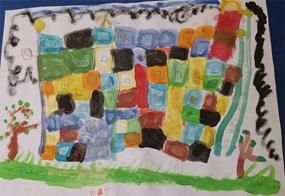 Ein Gespräch unter Kindern: Der Farbenmeister