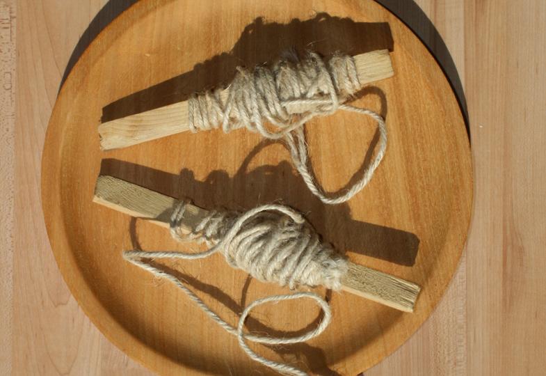 Pädagogisches Material selbst hergestellt: Der Holzwickel