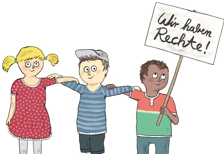 Die Rechte der Kinder in die Konzeption aufnehmen