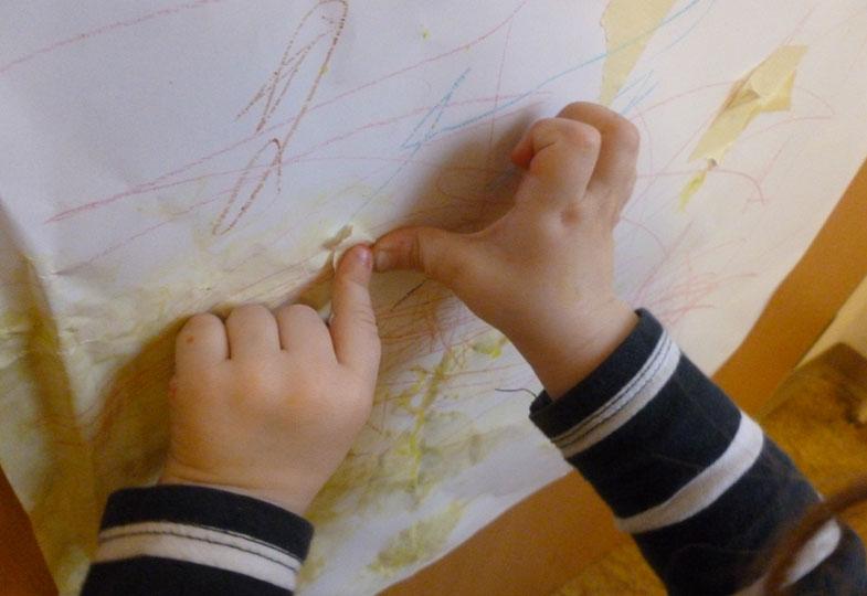 Ferenz und der Malerkrepp - Ein Angebotsimpuls aus der Krippe