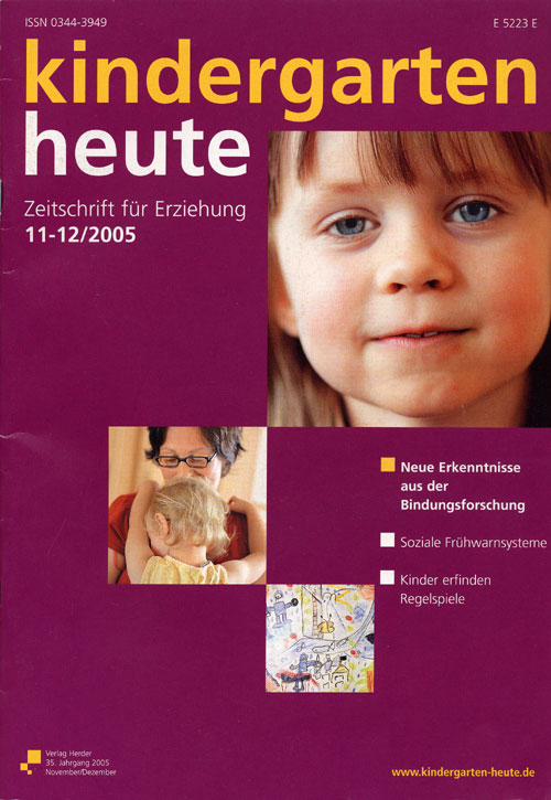 kindergarten heute - Das Fachmagazin für Frühpädagogik 11-12_2005, 35. Jahrgang