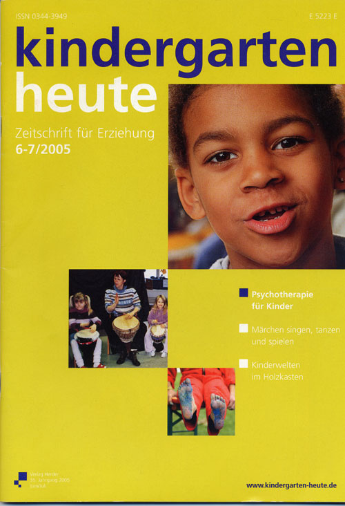 kindergarten heute - Das Fachmagazin für Frühpädagogik 6-7_2005, 35. Jahrgang