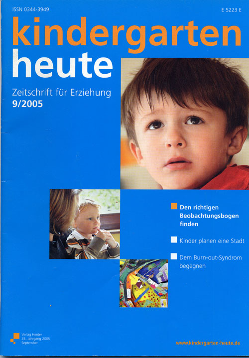 kindergarten heute - Das Fachmagazin für Frühpädagogik 9_2005, 35. Jahrgang
