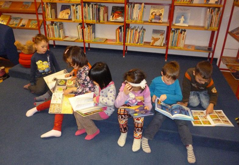 Kooperieren mit der Stadtbibliothek Magdeburg