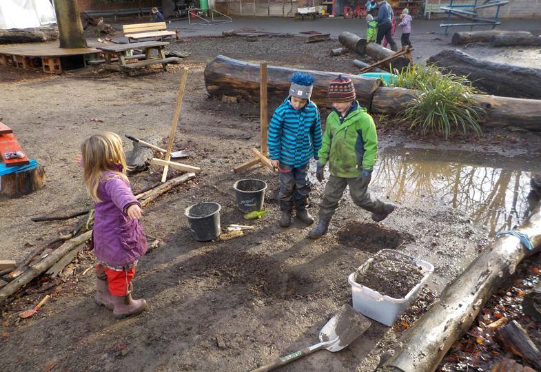 Suchen und finden - Ein Spielimpuls wird zum archäologischen Projekt
