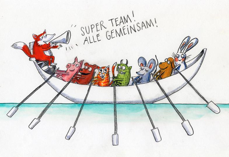Wie wird aus einer Gruppe ein Team?