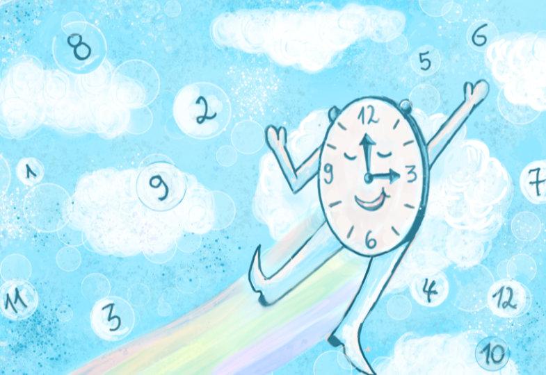 Wo geht die Zeit hin