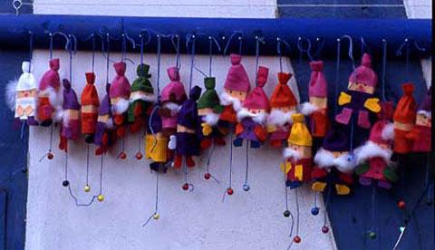Adventskalender aus Streichholzschachteln: 24 Weihnachtswichtel