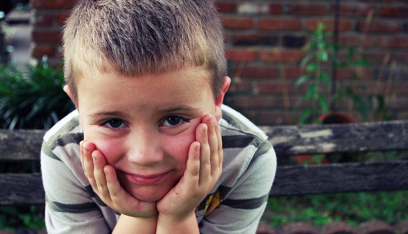 Auch Jungen dürfen weinen: