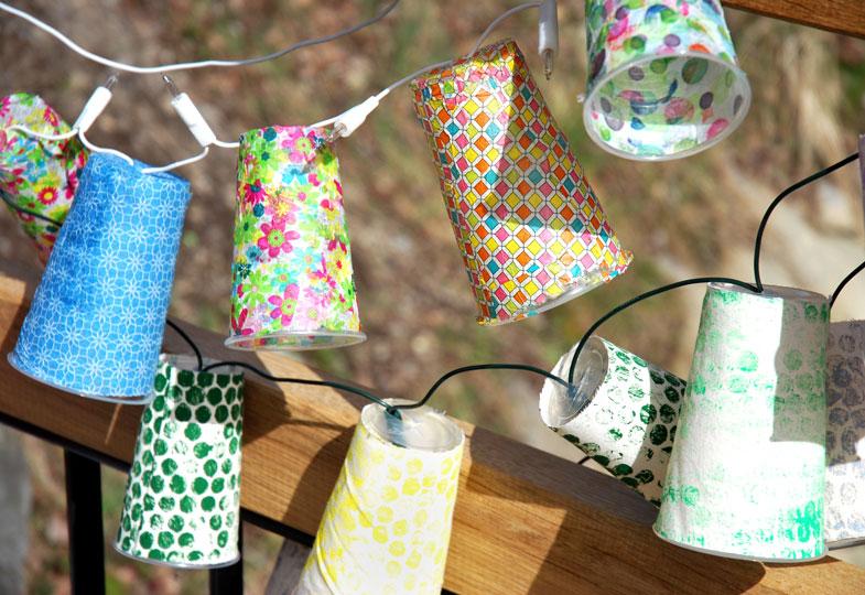 Selbst gemacht: Stimmungsvolle Lichter für die Sommerparty