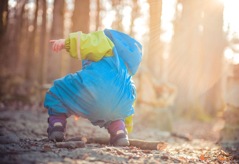 Im Herbst ist die beste Jahreszeit für kreative Kinderspiele
