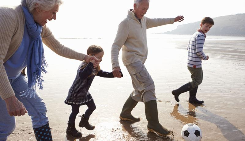 Drei-Generationen-Urlaub: Gut geplant ist halb erholt