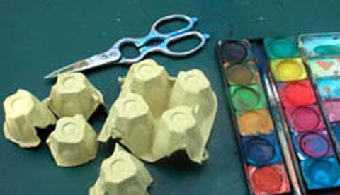 Drucken mit Hand und Fuß: Farbenfrohe Abdrücke