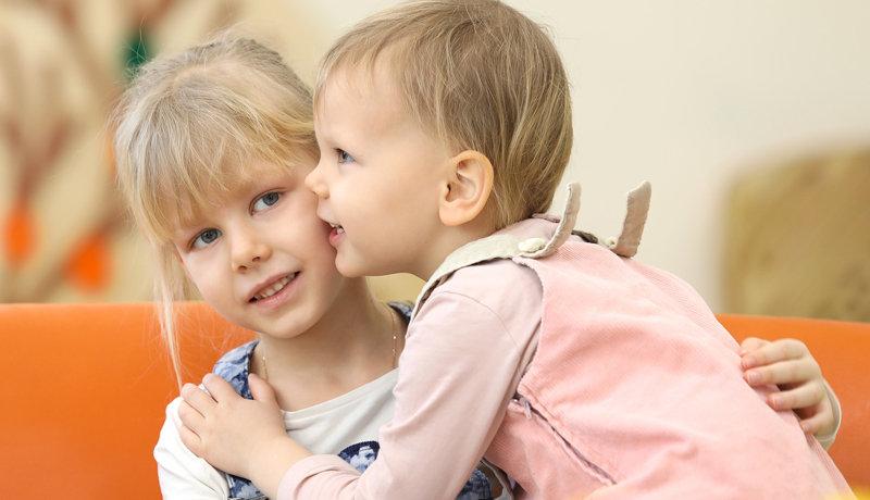 Eifersucht unter Geschwistern: Eifersucht keine Chance geben