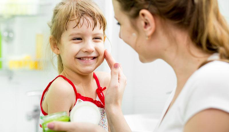 Eine saubere Sache: Naturkosmetik für Kinder