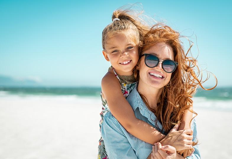 Erholung für Mutter und Kind