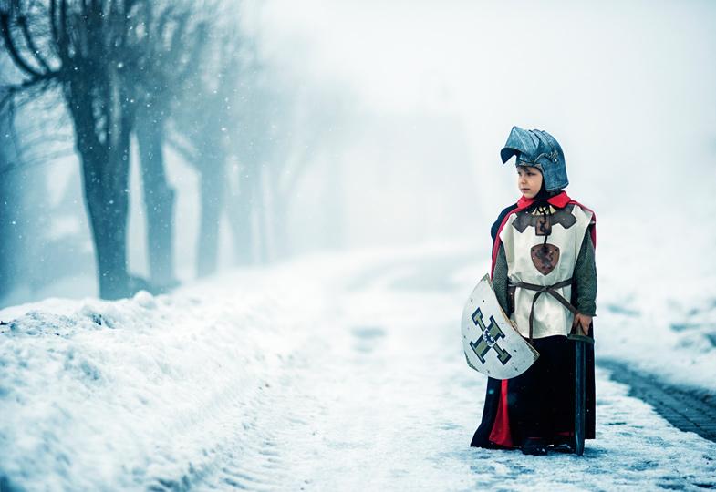 Es war einmal ein kleiner Ritter…