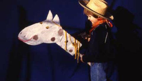 Für Cowboys und Indianer: Ritt auf dem Steckenpferd