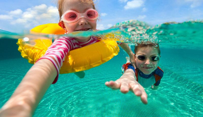 Für Schwimmen braucht man Mut: Wenn der Sport ins Wasser fällt