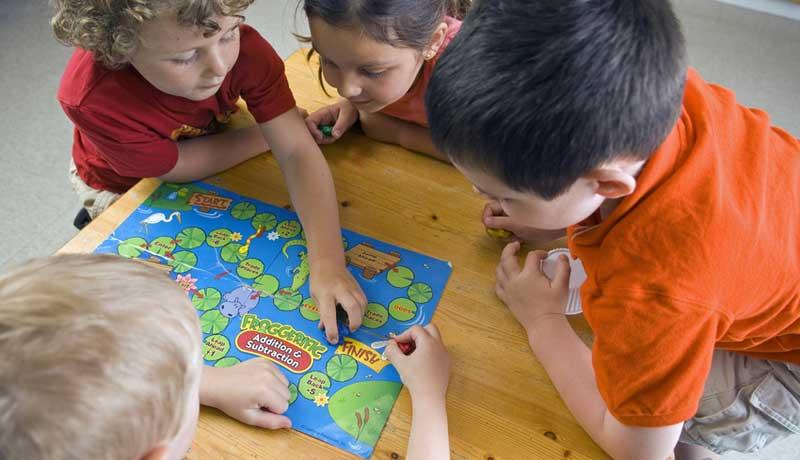 Gemeinsam spielen: Verlieren will gelernt sein