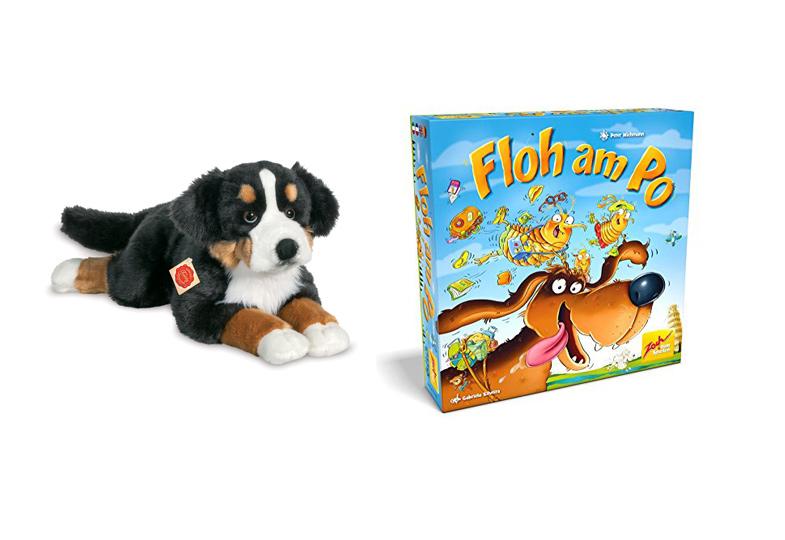 Gewinnspiel: Wir verlosen Hunde-Sets mit Plüschtier und Spiel