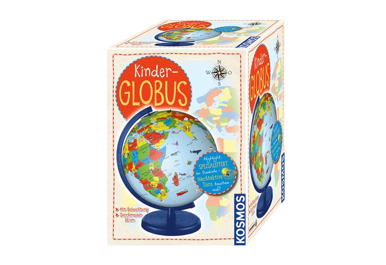 Gewinnspiel: Wir verlosen einen Kinderglobus von KOSMOS