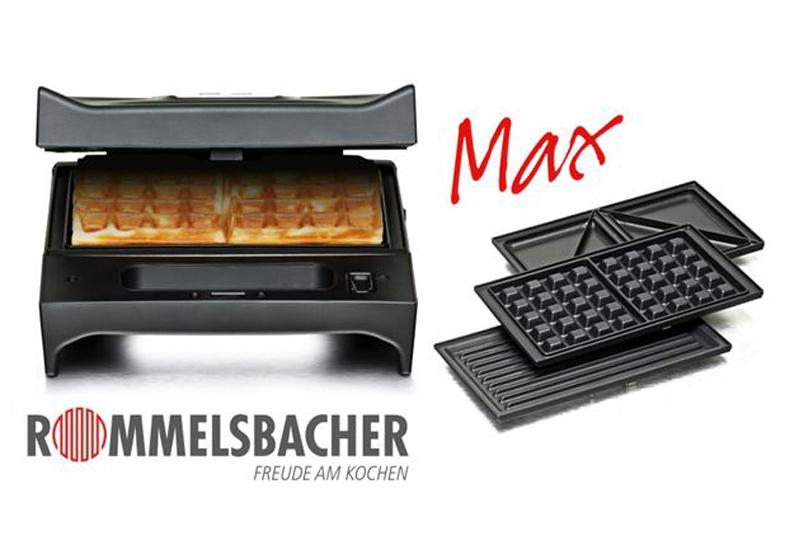 Wir verlosen 5 x den Multi Toast & Grill 3-in-1 Max von Rommelsbacher