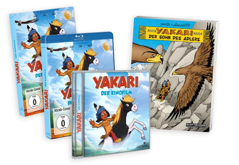 Gewinnspiel: Wir verlosen Pakete zu Yakari – der Kinofilm