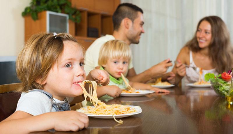 Kein Stress am Esstisch: Mahlzeit ist Aus-zeit