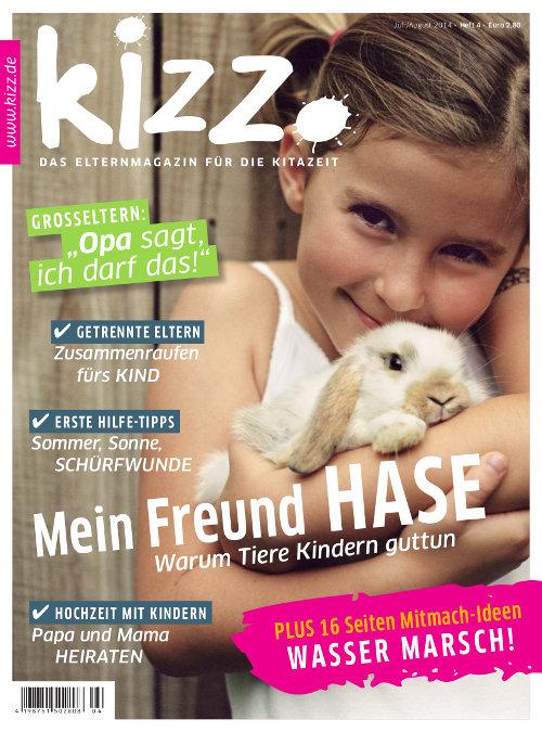 kizz. Das Elternmagazin für die Kitazeit Juli/August 2014, Heft 4