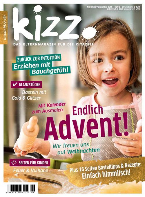 kizz. Das Elternmagazin für die Kitazeit November/Dezember 2015, Heft 6