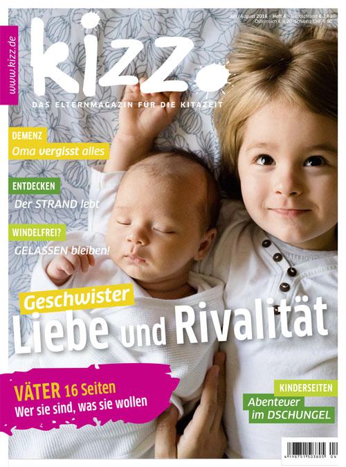 kizz. Das Elternmagazin für die Kitazeit Juli/August 2016, Heft 4