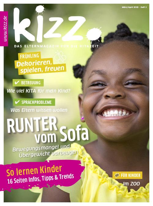 kizz. Das Elternmagazin für die Kitazeit Januar/Februar 2018, Heft 2
