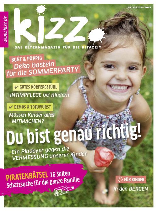 kizz. Das Elternmagazin für die Kitazeit Januar/Februar 2018, Heft 3