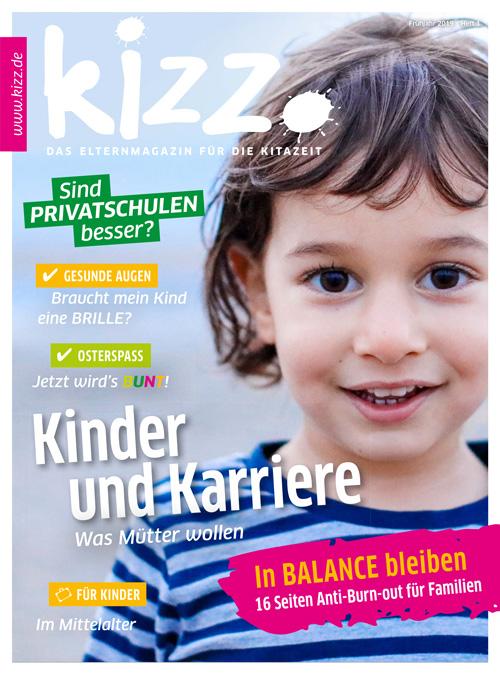 kizz. Das Elternmagazin für die Kitazeit Frühjahr 2019, Heft 1