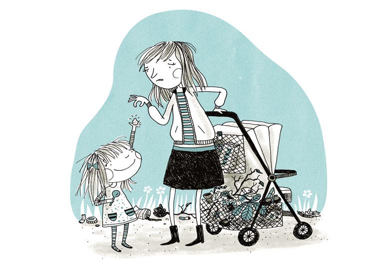 Entschleunigt im Familienalltag: Kleine, weite Welt