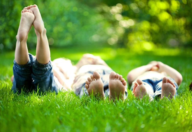 Auch Kinder brauchen Ruhe und Entspannung