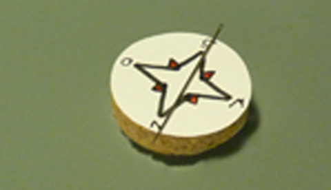 Kompass zum Nachbauen: Wo geht's zum Nordpol?