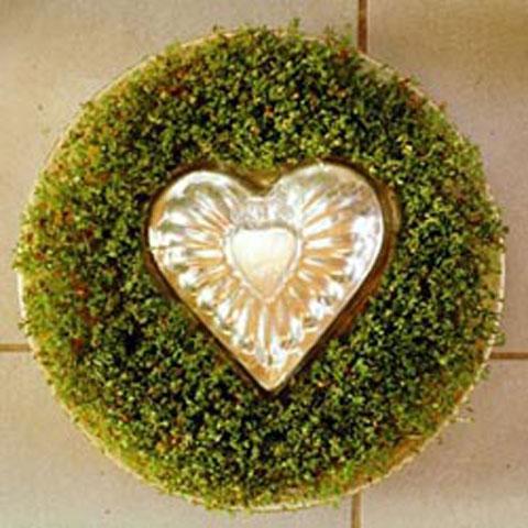 Kresse in Herzform: Mit Liebe schenken