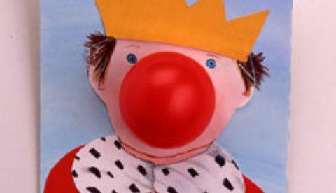 Lustige Pappfigur: Kleiner König Hatschi