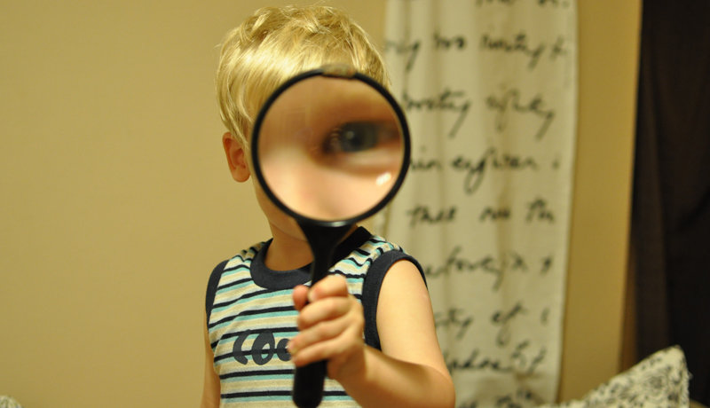Mit Kindern experimentieren: Am Anfang steht das Staunen