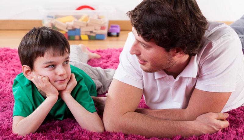 Mit Kindern sprechen: Die richtigen Worte finden