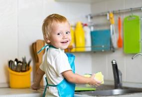 Kinder brauchen Eltern, die auf ihre Fähigkeiten vertrauen - das gilt auch für ganz alltägliche Dinge