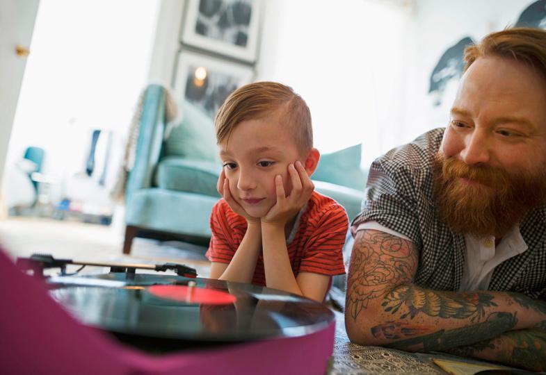 Was hörst du? Kinder finden auch die Musik ihrer Eltern spannend