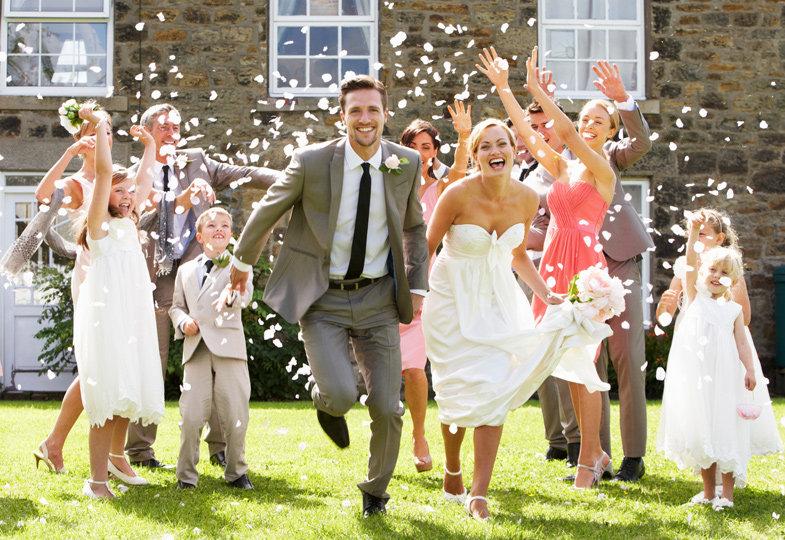 Papa und Mama heiraten