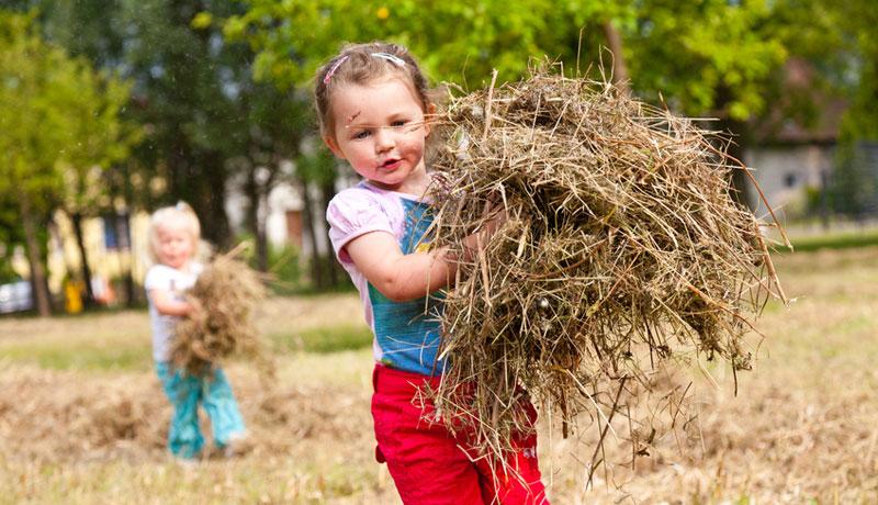 Raus ins Grüne: Warum Kinder die Natur brauchen
