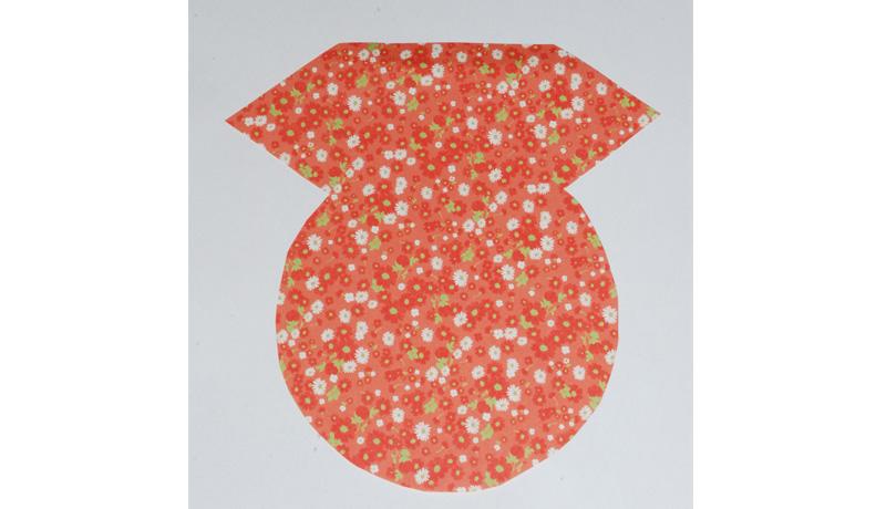 Schmetterlinge aus Papier: Grundform